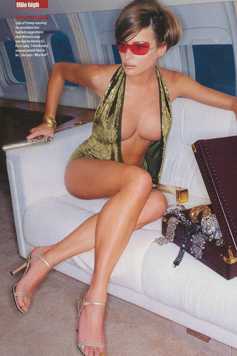 Melania Trump Nackt. Fotografie - 7