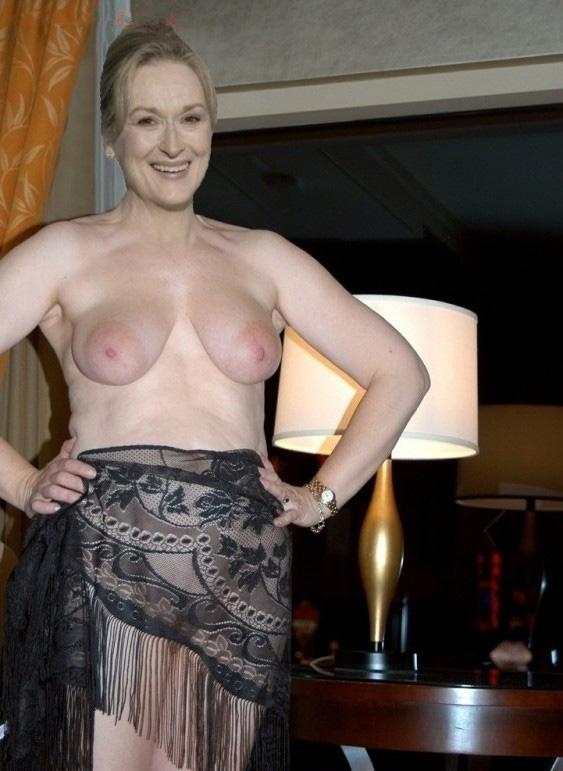 Мерил Стрип голая. Фото - 11