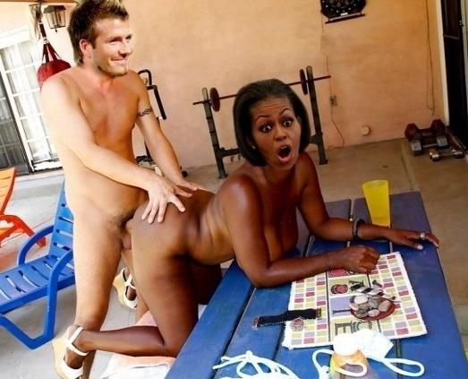 Мишель Обама голая. Фото - 14