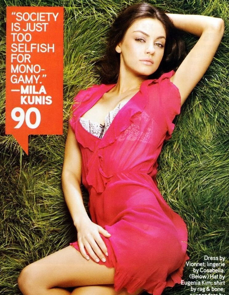 Mila Kunis nude. Photo - 28