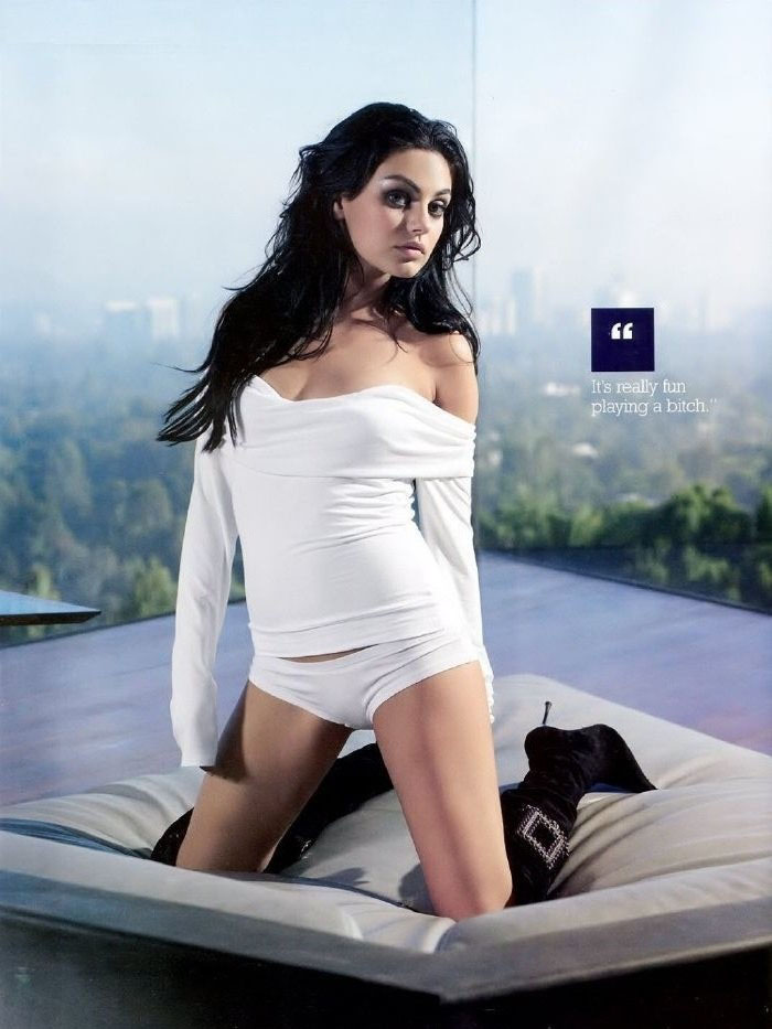 Mila Kunis nude. Photo - 34