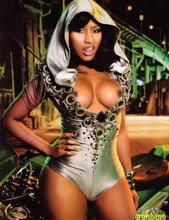 Nicki Minaj Nackt. Fotografie - 1