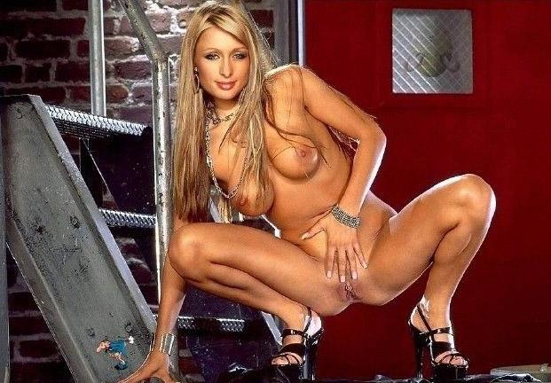 Пэрис Хилтон голая. Фото - 93