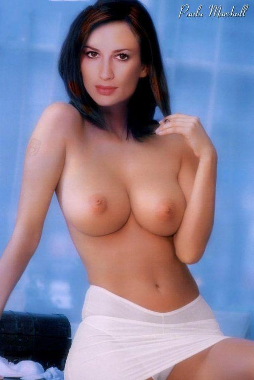 Пола Маршалл голая. Фото - 2