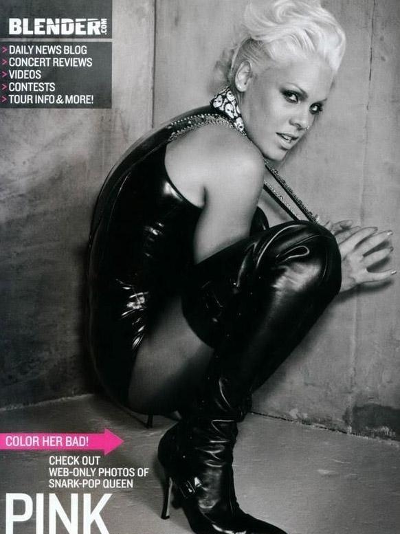 Pink Nackt. Fotografie - 20