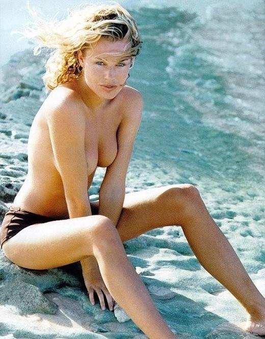 Naked rebecca romijn stamos