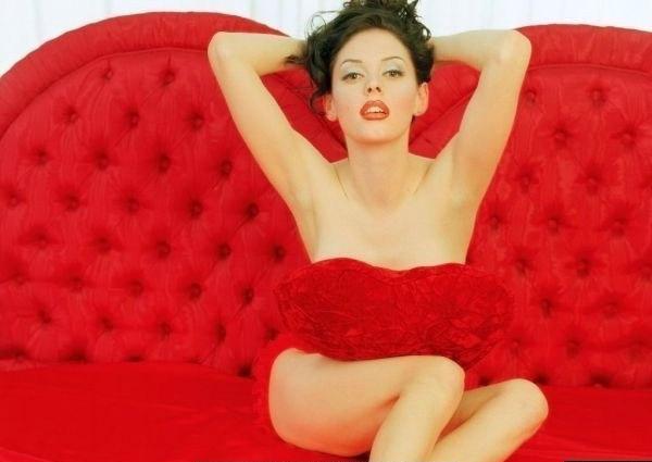 Роуз Макгоуэн голая. Фото - 3