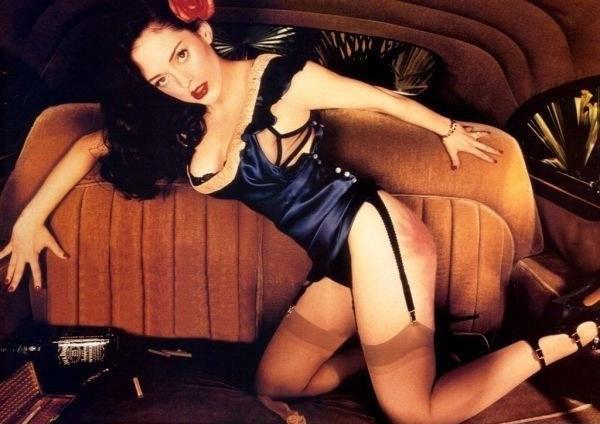 Роуз Макгоуэн голая. Фото - 8