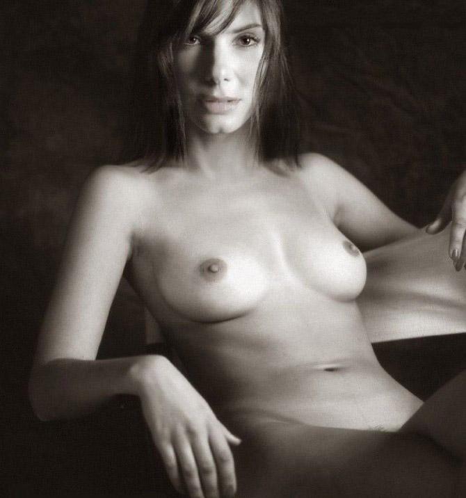Сандра Буллок nahá. Fotka - 83