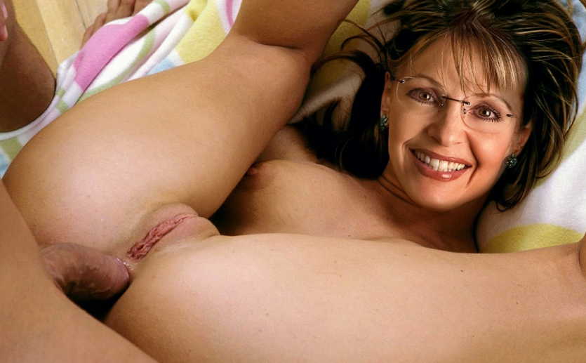 Сара Пэйлин голая. Фото - 10