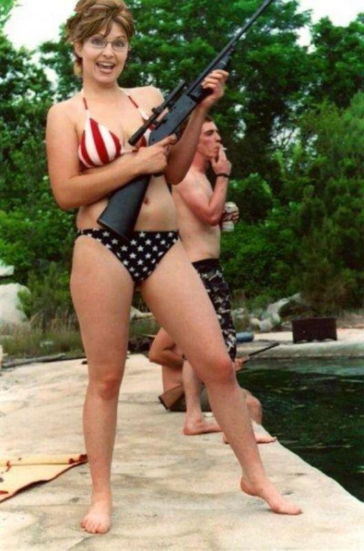 Сара Пэйлин голая. Фото - 24