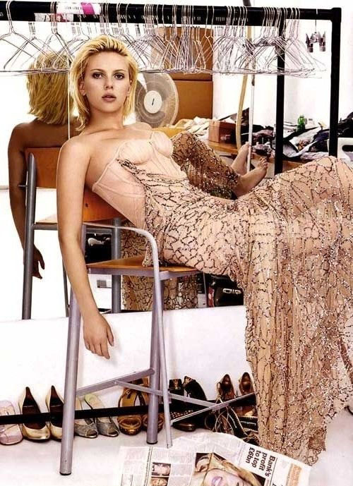 Scarlett Johansson Nackt. Fotografie - 15