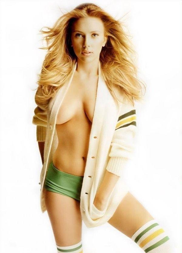 Scarlett Johansson Nackt. Fotografie - 2