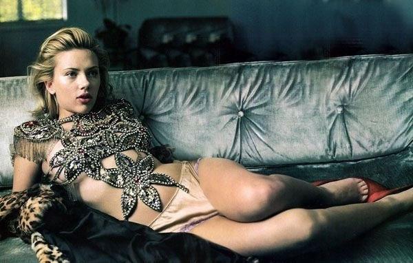 Scarlett Johansson Nackt. Fotografie - 21
