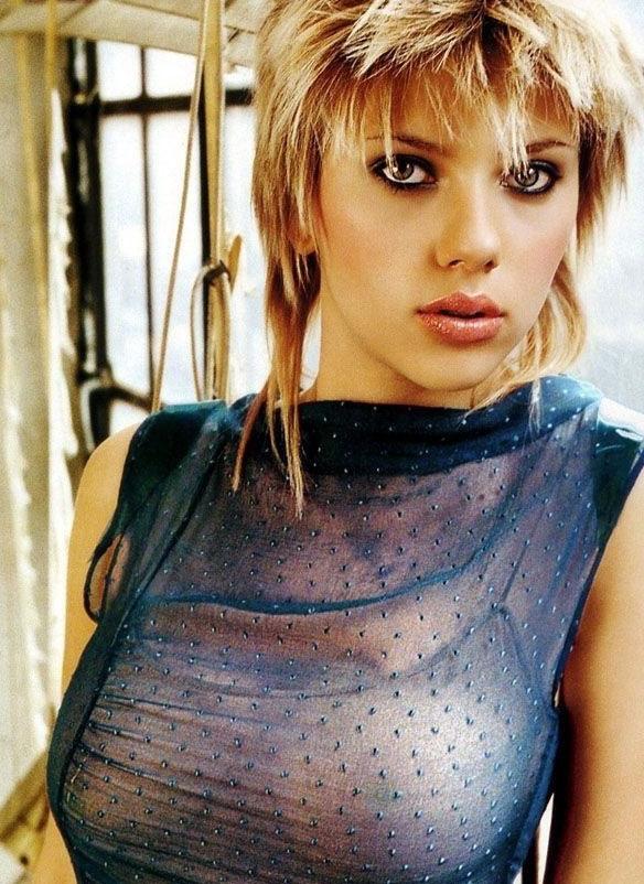 Scarlett Johansson Nackt. Fotografie - 3
