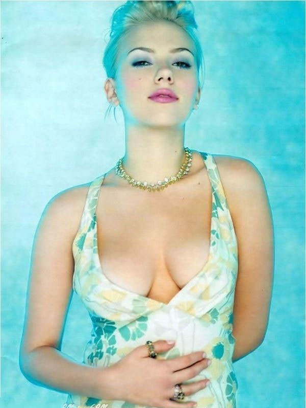 Scarlett Johansson Nackt. Fotografie - 5