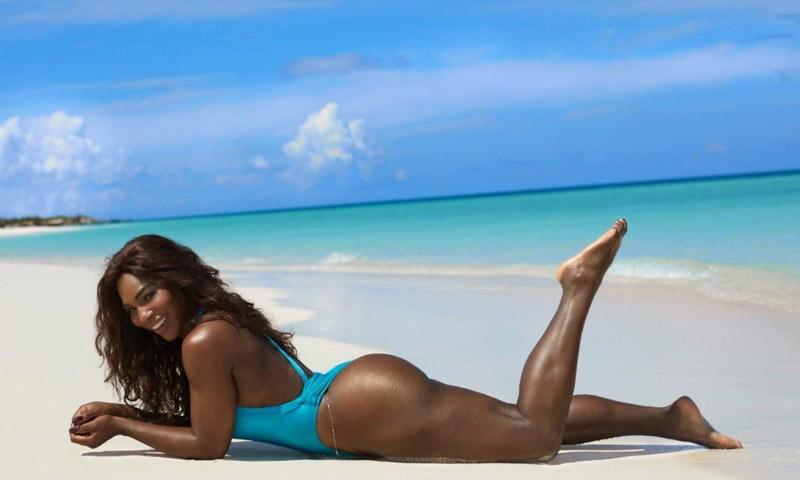 Serena Williams nahá. Fotka - 10