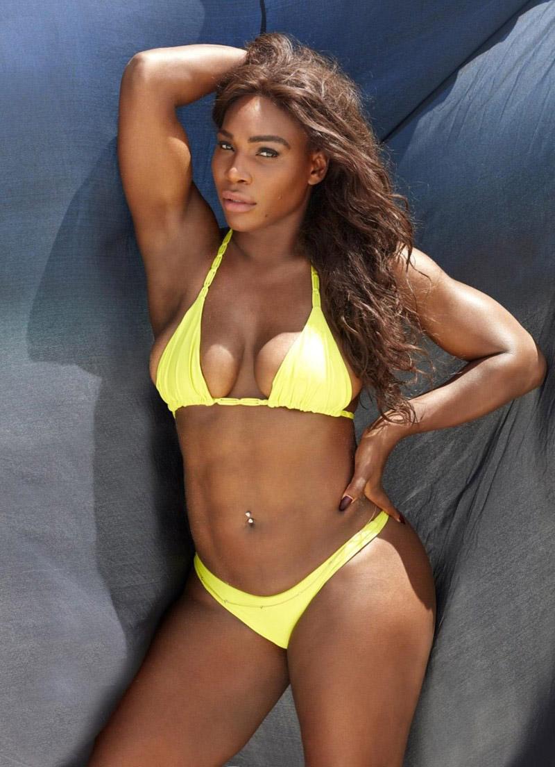 Serena Williams nahá. Fotka - 16