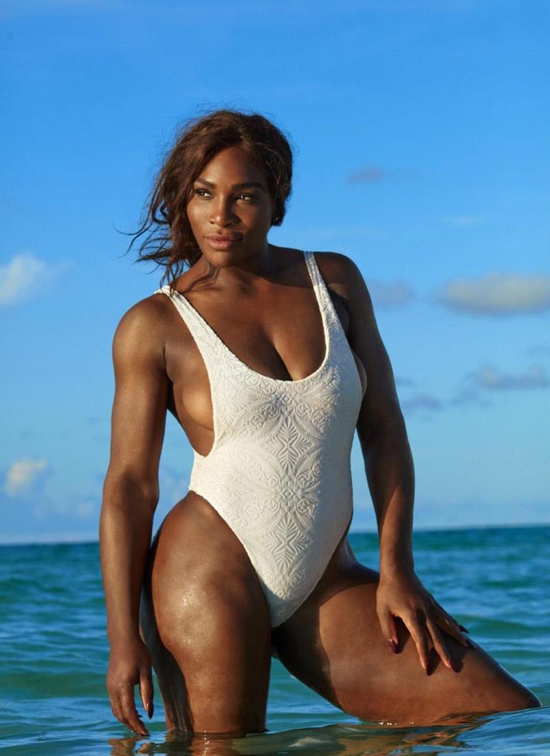 Serena Williams nahá. Fotka - 17