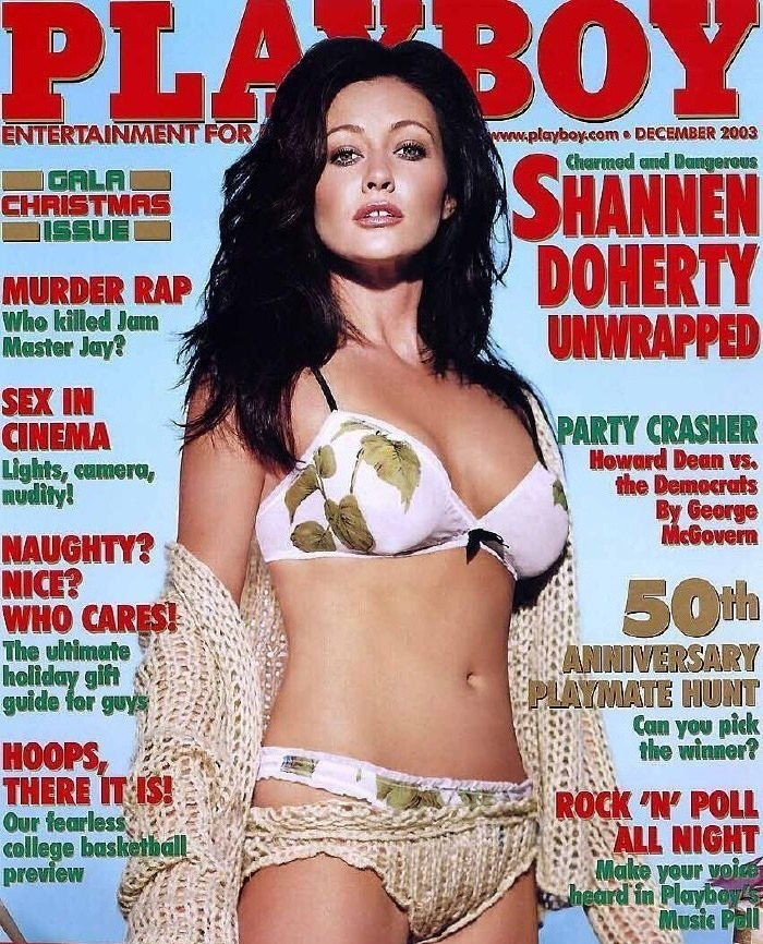Shannen Doherty nude. Photo - 1