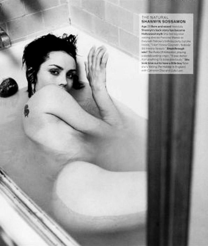 Шаннин Соссамон голая. Фото - 8