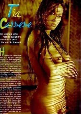 Тиа Каррере голая. Фото - 21
