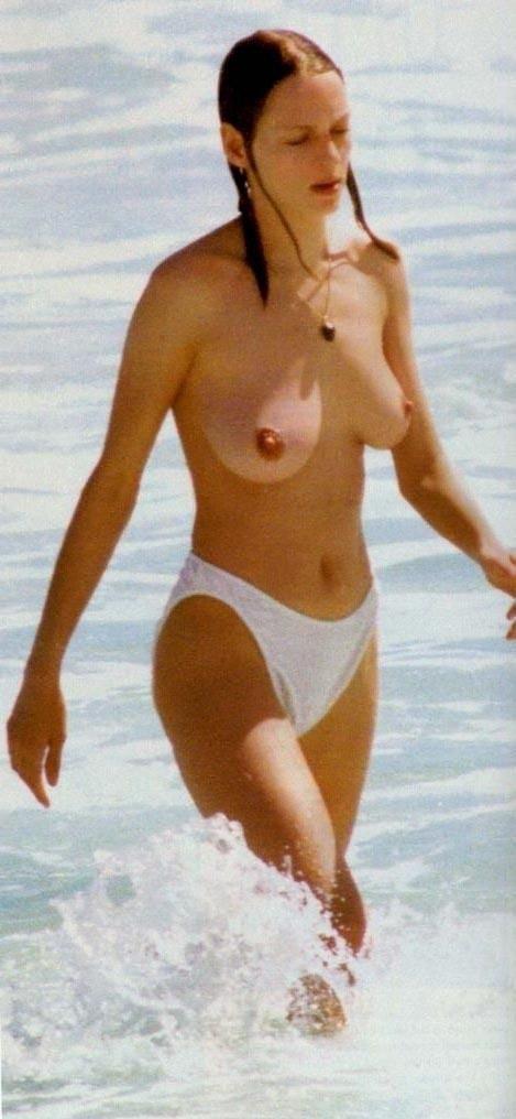 Ума Турман голая. Фото - 14